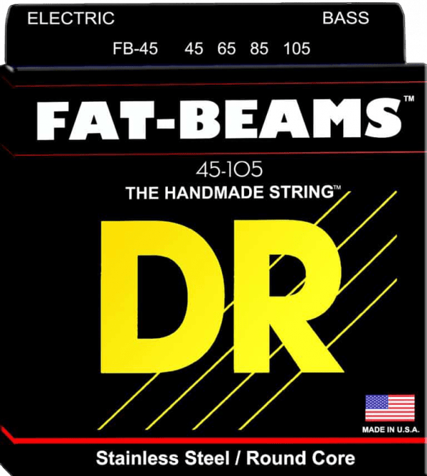 DR Strings Fat Beam 4 String Medium (45-105)