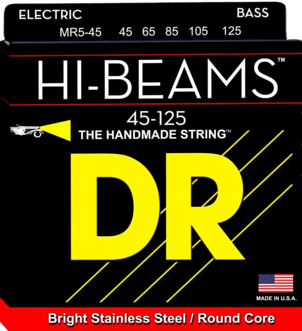 DR Strings HI-Beam 5 String Medium (45-125)