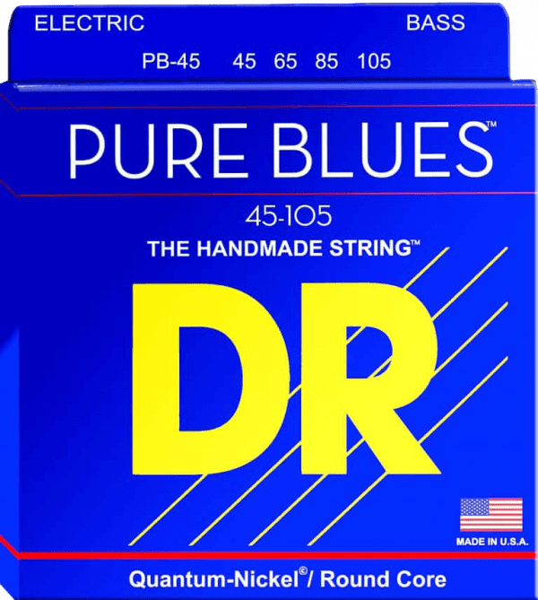 DR Strings Pure Blues 4 String Medium (45-105)