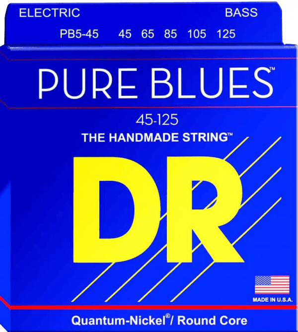 DR Strings Pure Blues 5 String Medium Light (45-125)