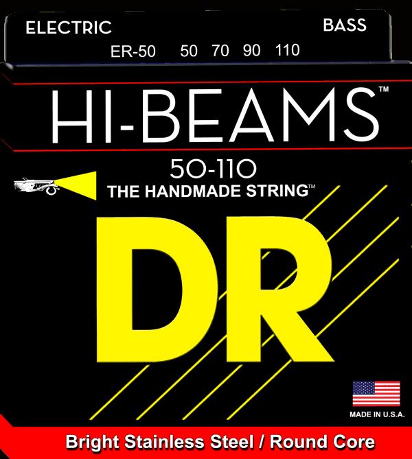 DR Strings HI-Beam 4 String Heavy (50-110)
