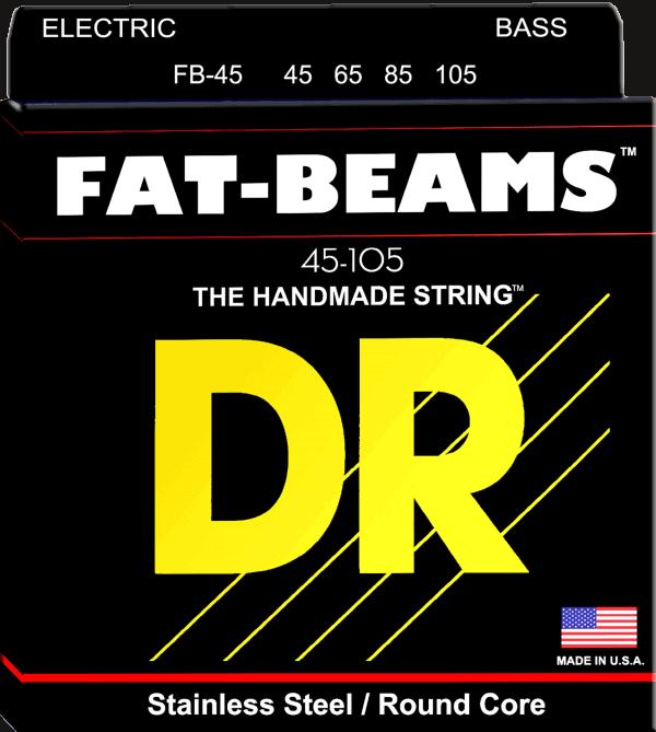 DR Strings Fat Beam 4 String Medium (45-105)