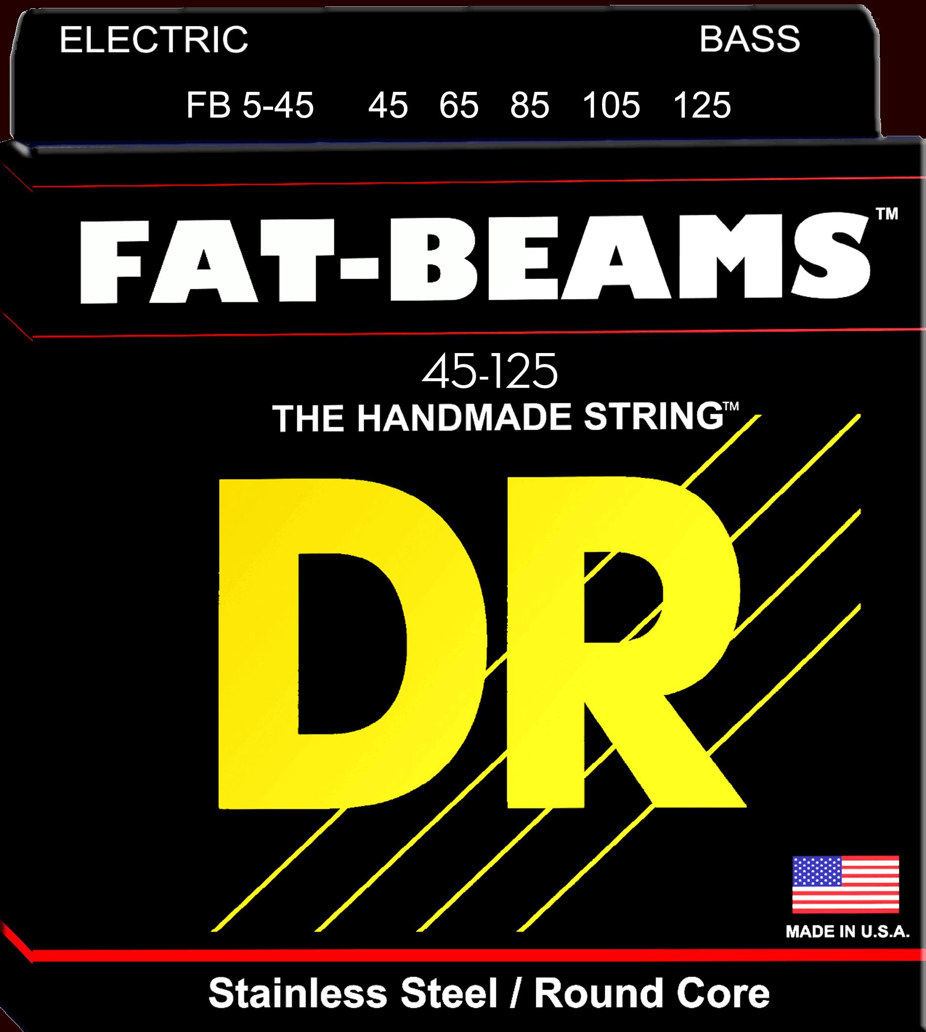 DR Strings Fat Beam 5 String Medium (45-125)