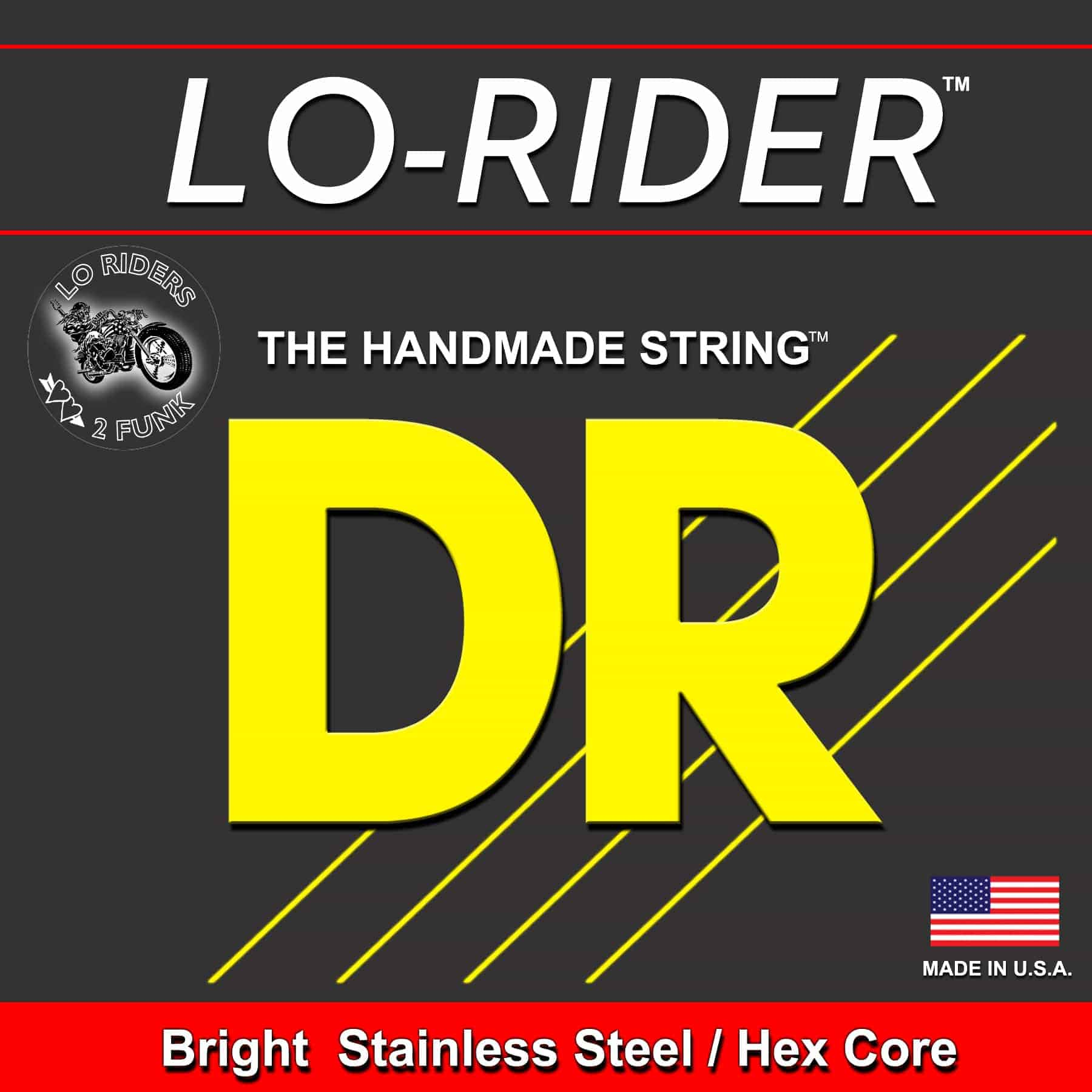 LO RIDER 6 strings Stainless steel