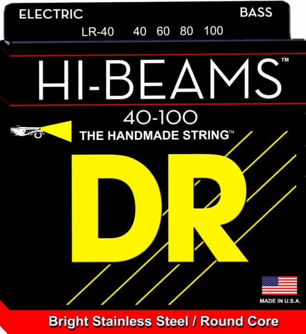 DR Strings HI-Beam 4 String Lite (40-100)