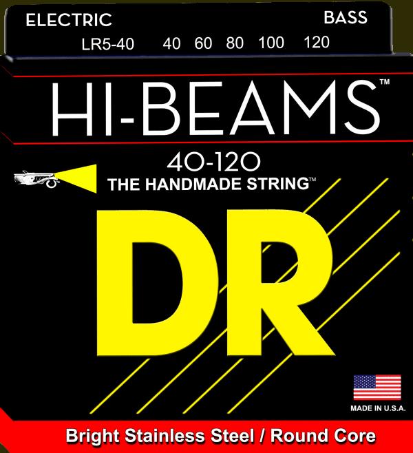 DR Strings HI-Beam 5 String Lite (40-120)