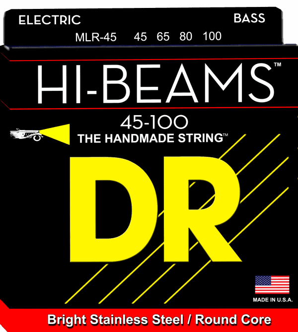 DR Strings HI-Beam 4 String Medium (45-105)