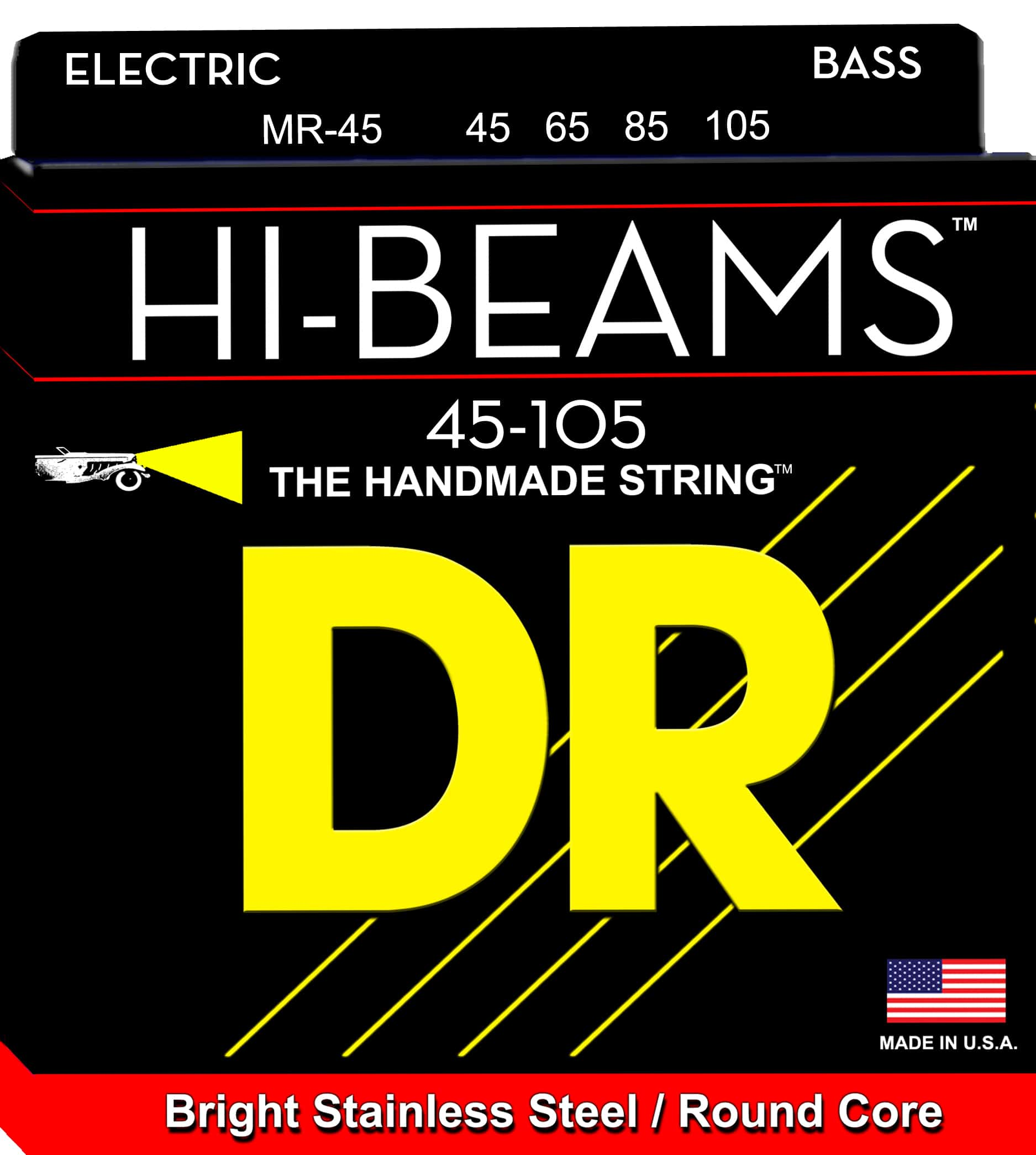 DR Strings HI-Beam 4 String Medium (45-105)
