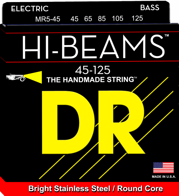 DR Strings HI-Beam 5 String Medium (45-125)