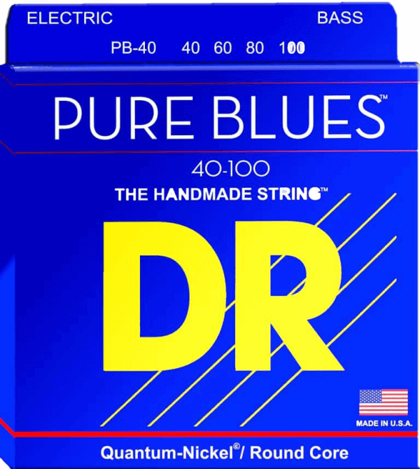 DR Strings Pure Blues 4 String Light (40-100)