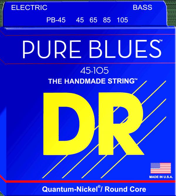 DR Strings Pure Blues 4 String Medium (45-105)