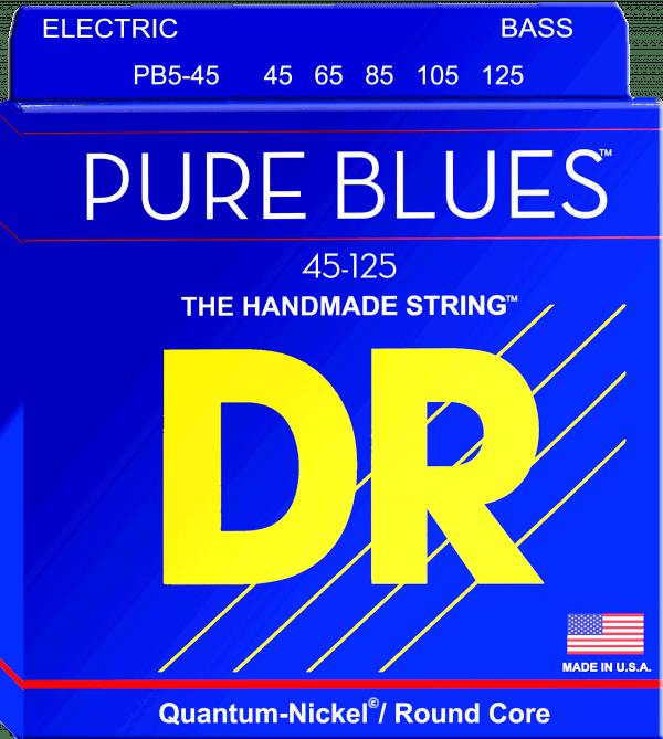 DR Strings Pure Blues 5 String Medium Light (45-125)