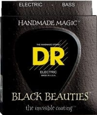 DR Strings Black Beauties 30-125