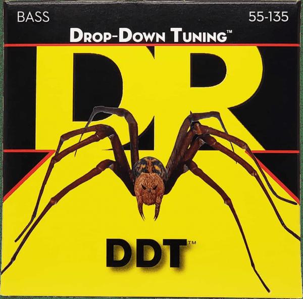 DR Strings DDT 5 String Heavy (55-135)