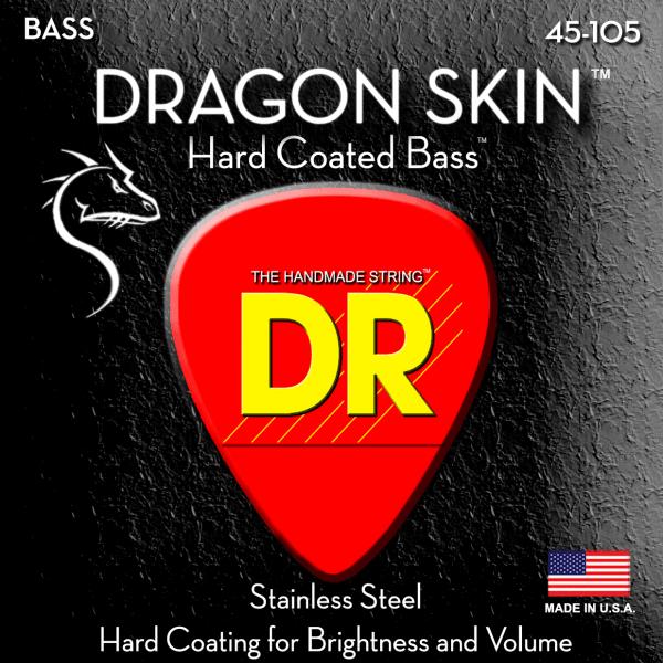 DR Strings Dragon Skin 4 String Medium (45-105)