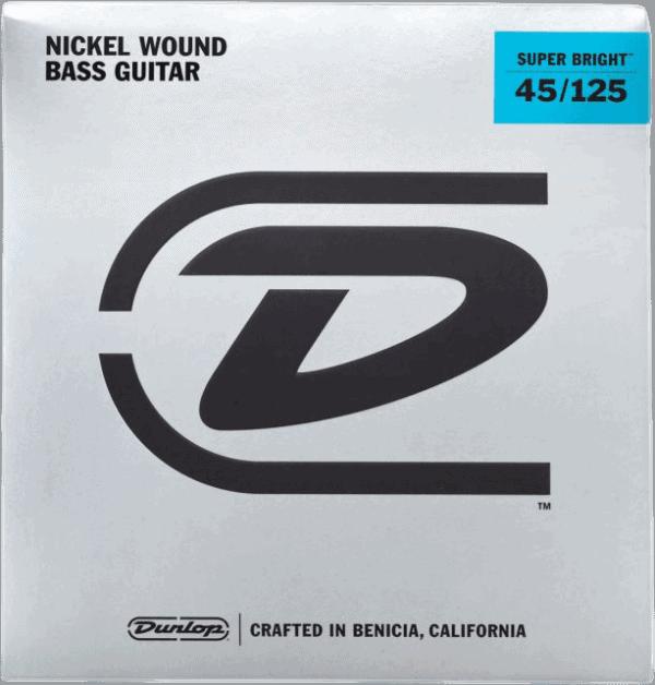 Dunlop Super Bright Nickel 5 String (45-125)