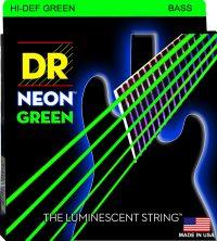 NEON GREEN BASS 5 STRING