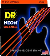 NEON ORANGE 4 STRING BASS