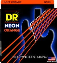 NEON ORANGE 5 STRING BASS