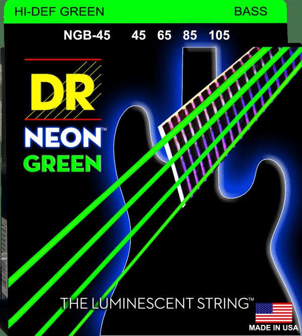 DR Strings Neon Green 4 String Medium (45-105)