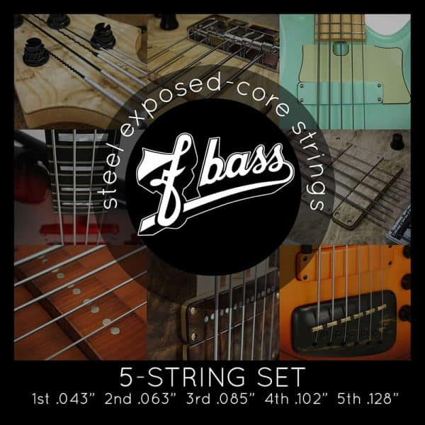 F Bass Stainless Exposed Core 5-strings (43-128)