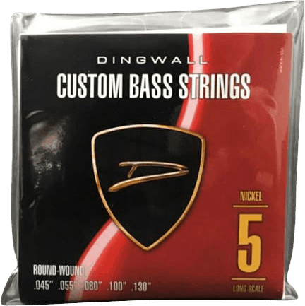 Dingwall Custom Bass Strings 5-String (45-130)Nickel