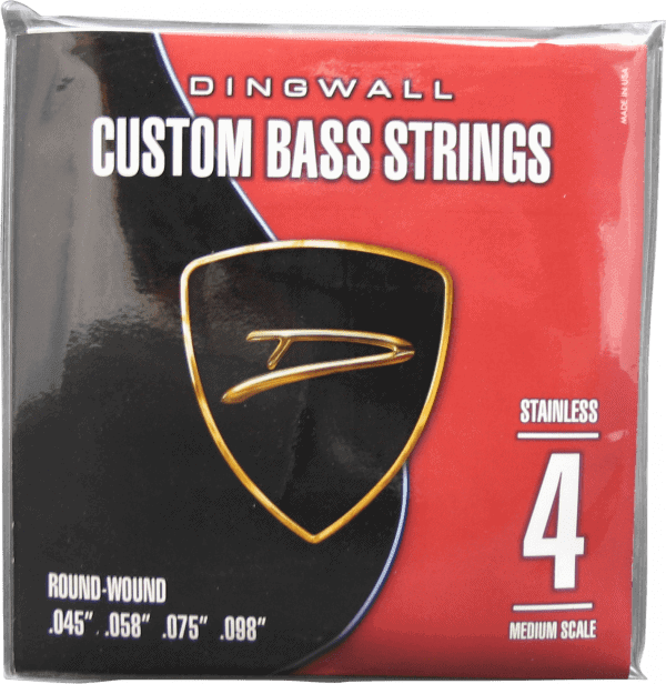 Dingwall Bass Strings Custom 4-String (45-100)Nickel