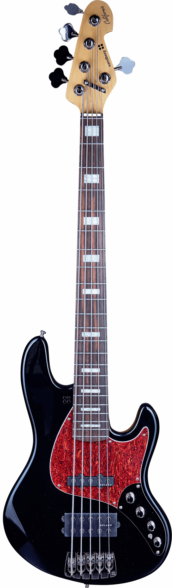 Sandberg TM5 Black High Gloss