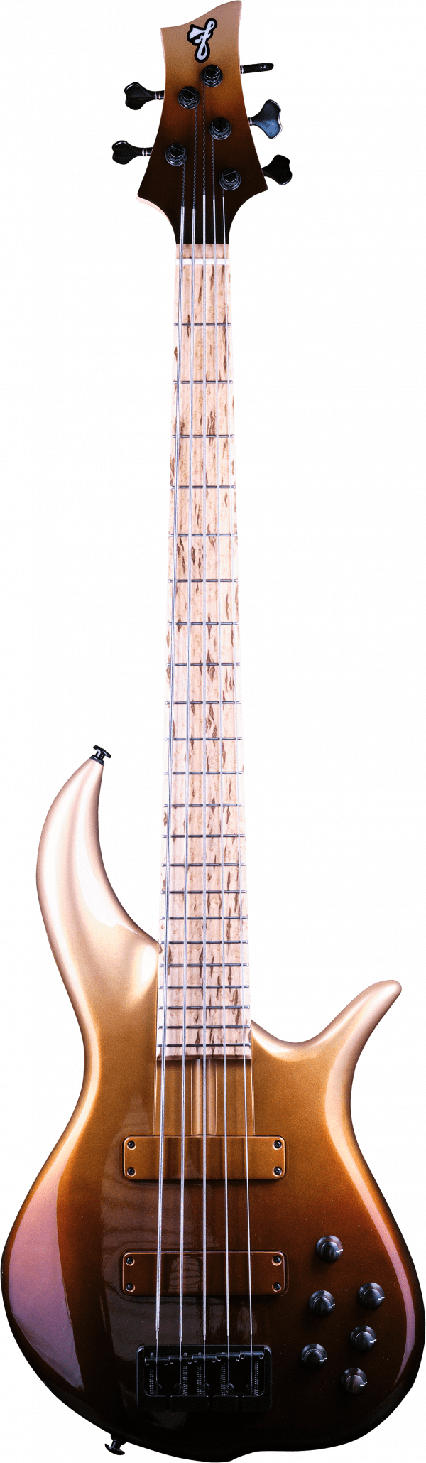 F Bass BN5 Burnt Gold Fade