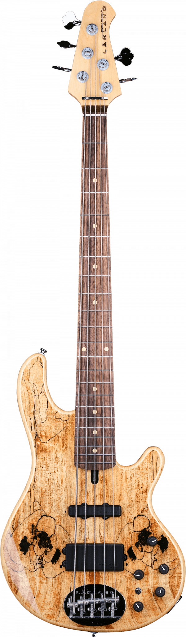 Lakland Skyline 55-02 Deluxe Spalted Maple