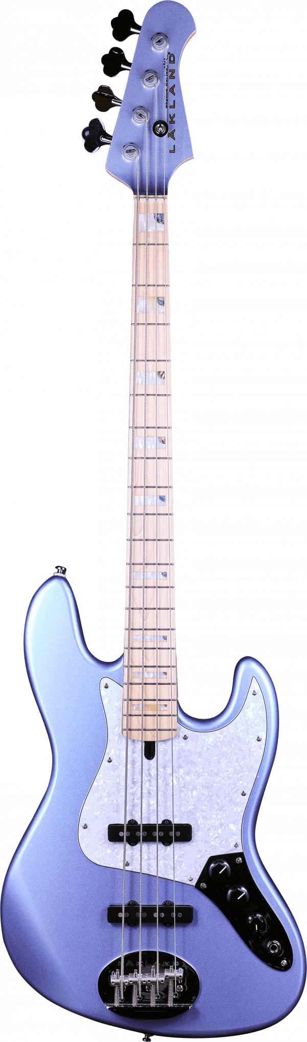 Lakland Skyline 44-60 Jazz Custom Ice Blue Metallic