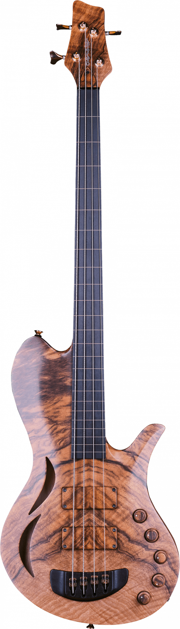 Overwater Hollowbody Thinline 4 Fretless