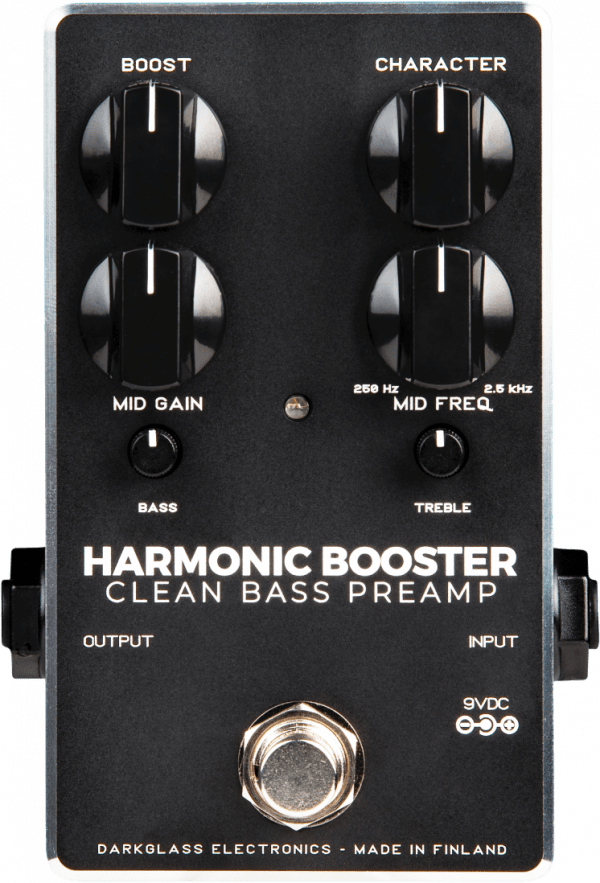 Darkglass Harmonic Booster 2.0 Clean Bass Preamp/Boost pedal