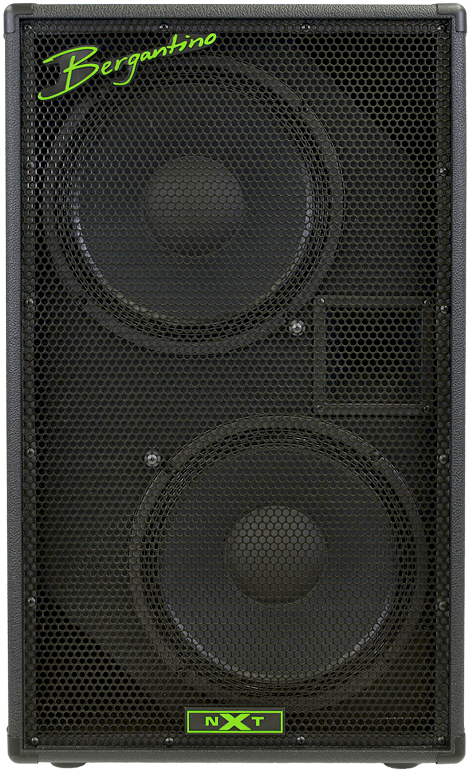 Bergantino NXT212 2x12 NXT-Series Bass Cabinet with Horn