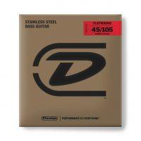 Dunlop Flatwound Shortscale 4 string (45-105)