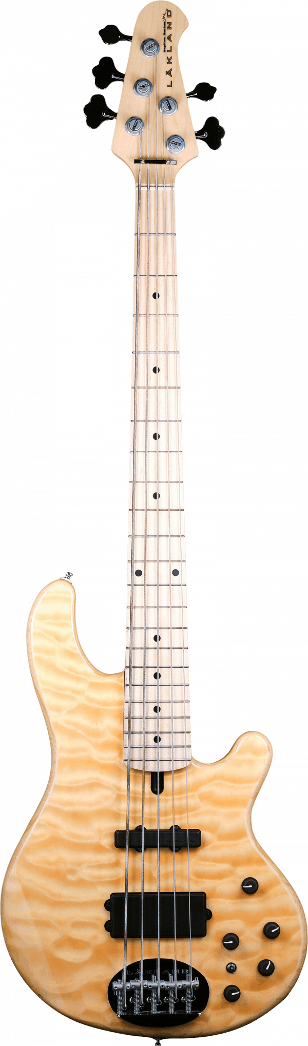 Lakland Skyline 55-02 Deluxe Quilted Maple