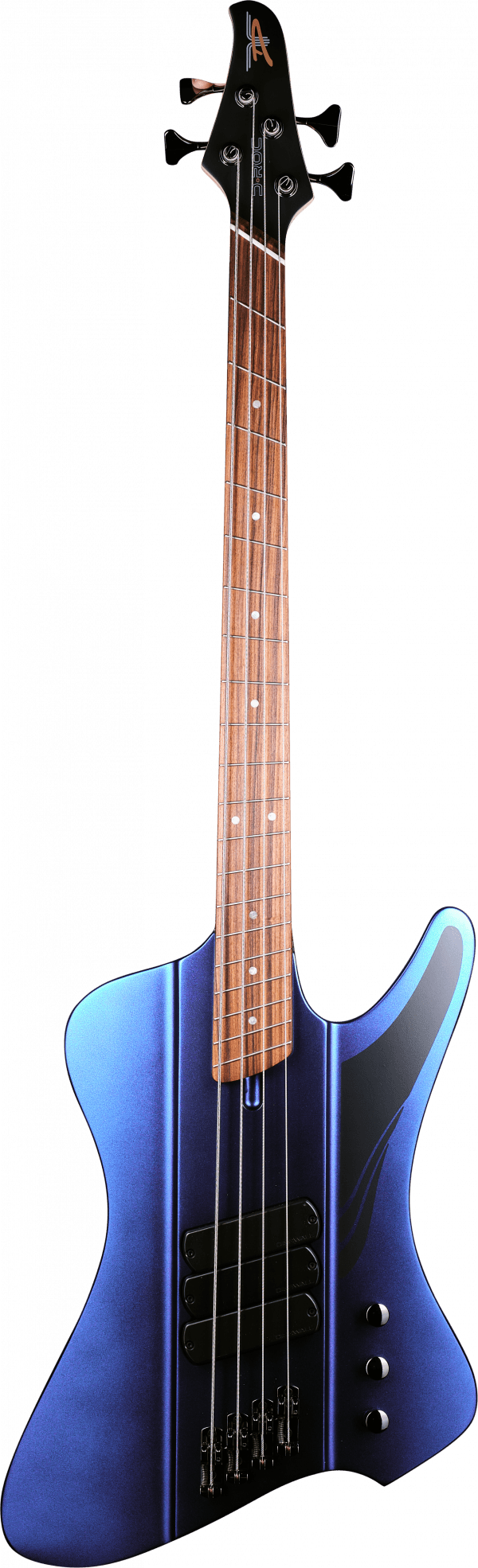Dingwall D-Roc 4 Standard Matte Blue to Purple Colorshift